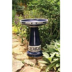 Birds Choice Burley Clay Zanesville Bird Bath