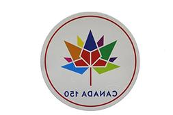 """CANADA 150 Year Anniversary 1867 - 2017 Round Shape 6 1/4"""" I"""