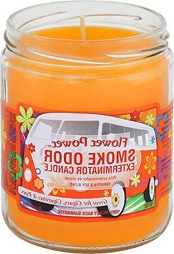 Smoke Odor Exterminator Candle Flower Power