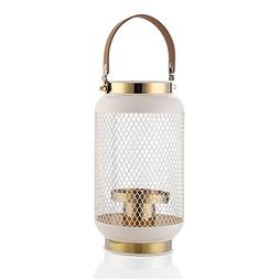 Marbrasse Outdoor Candle Lantern Hanging Hurricane Candle Ho