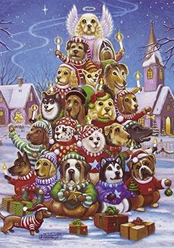 Canine Christmas Tree Advent Calendar