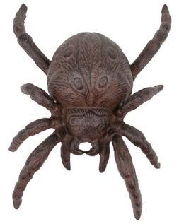 Cast Iron Halloween Spider Garden Statue Patio Yard