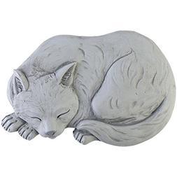 Cat Garden Stone Cement