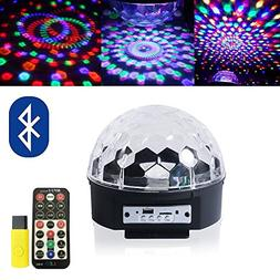 ihoven Disco Ball Party Lights, 9 Colors Rotating LED Disco