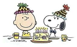 Charlie Brown Peanuts Snoopy Edible Image Photo Cake Topper