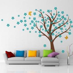 Cherry Blossom Wall Decals Baby Nursery Tree Decals Kids Flo