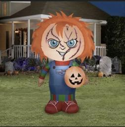 Childs Play Chucky Good Guys Halloween Airblown LED 5ft Infl