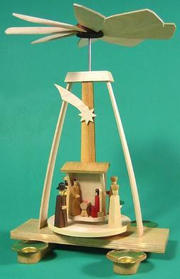 Dregano Christmas Aframe Nativity Pyramid Germany