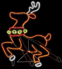 Christmas & Winter Home Holiday Seasonal Reindeer Light LED