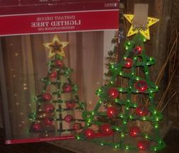 CHRISTMAS BIG OUTDOOR LIGHTED TREE STAR TOPPER SILHOUETTE SI