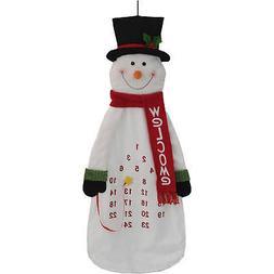Holiday Time Christmas Decor Calendar, Snowman