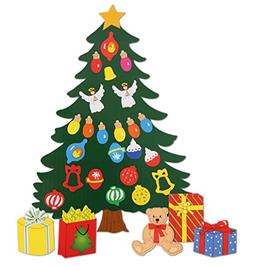 Christmas Decoration. Animated Tree Magnet Set. Perfect for