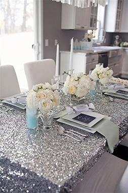"B-COOL 50""x50"" Christmas Decoration wholesale sequin tablecl"