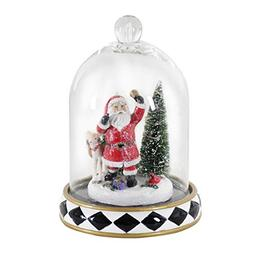 Exhart Christmas Decorations – Santa Christmas Dome with L