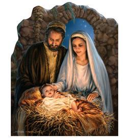 Christmas Nativity by Dona Gelsinger Cardboard Standup