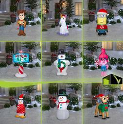 CHRISTMAS INFLATABLE Airblown Pre-lit Characters Outdoor Yar