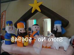 Christmas Inflatable <font><b>Nativity</b></font> Scenes <fo