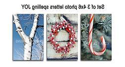 Christmas JOY decoration - Holiday Decor - Creative Letter A