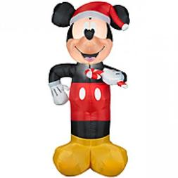 Christmas 3 1/2ft Disneys Mickey Mouse Airblown Inflatable O
