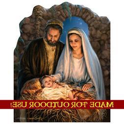 Christmas Nativity Three Wise Men Yard Sign Decoration Holid