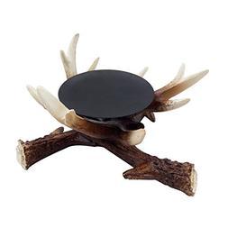 D.Jacware Christmas Resin Deer Antler Candle Holder AZJ30002