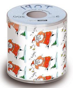 Christmas Toilet Paper Smile TOPI Designer Toilet Paper