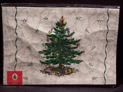 Spode - Christmas Tree - Cloth Placemats Set Of 4