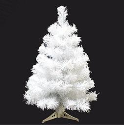 Prettybuy Christmas Tree with Plastic Stand,3-feet,pvc