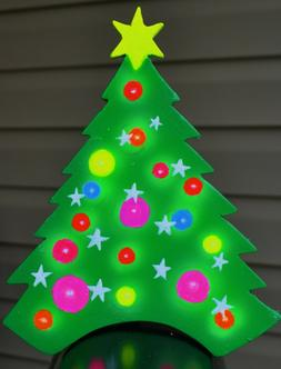 Christmas tree mail box topper in full brilliant color Chris