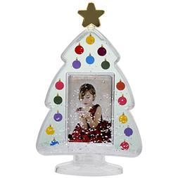 Christmas Tree Photo Snow Globe