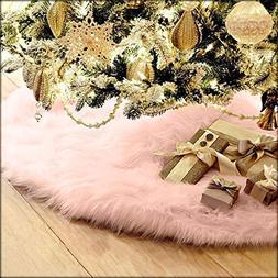 Jieson Christmas Tree Skirt 78cm Christmas Tree Plush Skirt