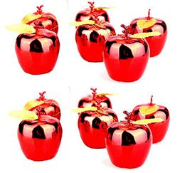 12pcs Christmas Tree Xmas Apple Decorations Baubles Party We