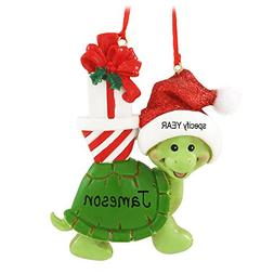 Christmas Turtle Ornament