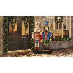 Christmas Yard Decoration Holiday Seventytwo Inch LED Tinsel