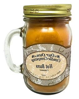 Cinnamon Hot Buns Scented 13 oz Mason Jar Candle - Made in t