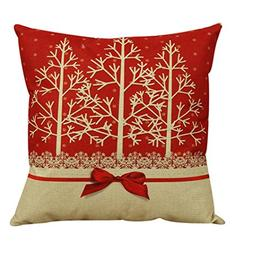 Clearance!Pillow Cover,Canserin Vintage Christmas Pillow Cas