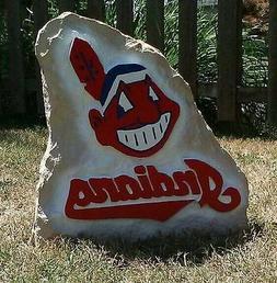 Cleveland Indians Decorative Yard Stone