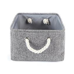 TheWarmHome Collapsible rectangular baskets for storage laun