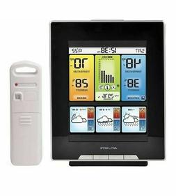 Acurite Color Weather Station with Morning, Noon, & Night Fo