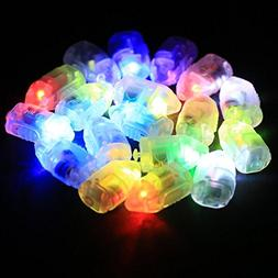 Colorful LED Lamp, 100 PCS Mini LED Balloons Light Lamp LED