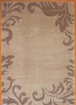 6' x 9' Contemporary Hand Knotted Wool Tibet Rug LX-82-45