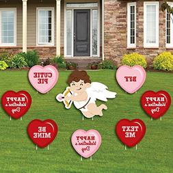 Conversation Hearts - Yard Sign & Outdoor Lawn Decorations -