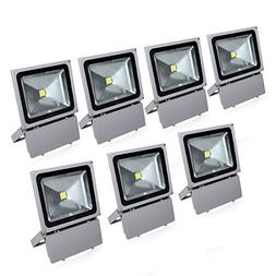 Sanzo® 100w Cool White Outdoor LED Flood Light 6300lm Super