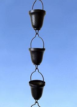 Stanwood Rain Chain Copper Basin Bowl for Rain Chain
