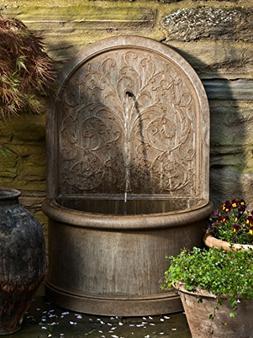 Campania International Corsini Cast Stone Wall Fountain