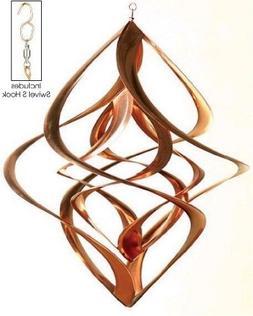 Cosmix Copper Double Wind Sculpture