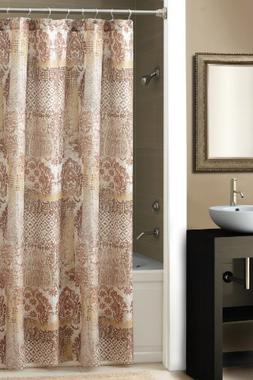 Chapel Hill by Croscill Courtesan Shower Curtain, Brown