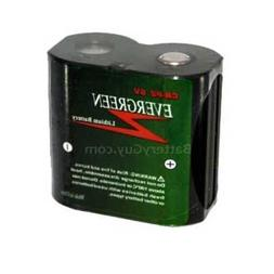 Evergreen CR-P2 Photo Lithium Battery Replaces 2CR-P2 PC223