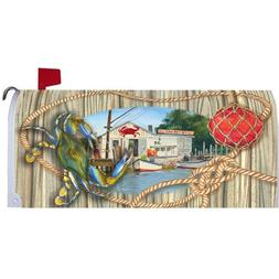 Custom Decor Crab Shack Mailbox Cover