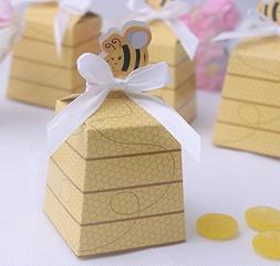 Creative Honey bee Candy Treat Box For Wedding & Baby Shower